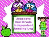 Journeys Grade 2 Reading Log