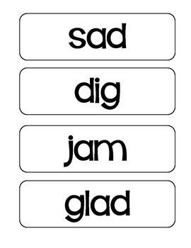 Journeys Grade 2 Spelling Word Cards-Unit 1