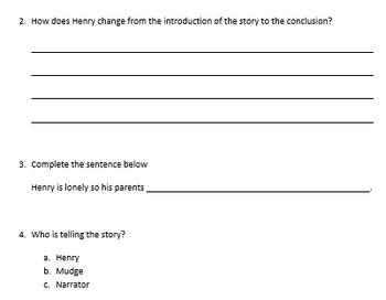 Journeys-Grade 2 Summary Questions *5 Free