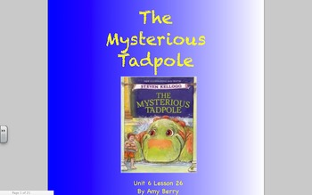 Journeys Grade 2 The Mysterious Tadpole Unit 6.26