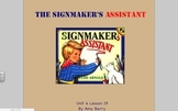 Journeys Grade 2 The Signmaker's Assistant Unit 4.19