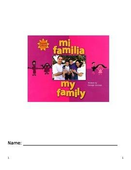 Journeys Grade 2 Unit 1 Lesson 2 My Family