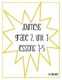 Journeys Grade 2 Unit 1 Lessons 1-5