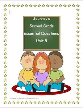 Journey's  Grade 2 Unit 5 Essential Questions