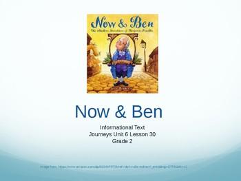 Journeys Grade 2, Unit 6 Lesson 30, Now and Ben