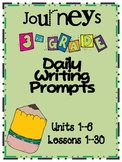 Journeys Grade 3 Daily Writing Prompts