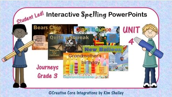 Journeys Grade 3 Interactive Spelling Unit 4