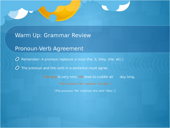PREVIEW: Journeys Grade 3 Lesson 15 Supplementary Grammar Practice