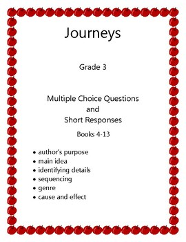 Journeys Grade 3 Leveled Readers 4-13