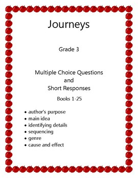 Journeys Grade 3: Leveled Readers/Remedial