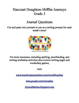 Journeys Grade 3 Proofreading Practice