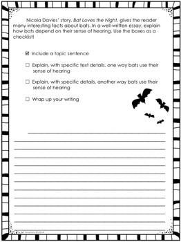 Journeys Grade 3-Unit 2-Lessons 6-10 Common Core Writing Prompts