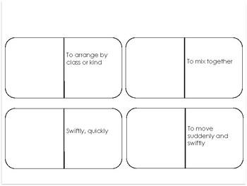 Journeys Grade 3: Unit 2 - Vocabulary Domino Bundle