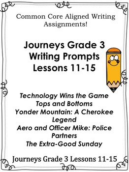 Journeys Grade 3-Unit 3-Lessons 11-15