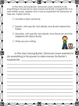 Journeys Grade 3- Writing Prompts Bundle-Lessons 1-30