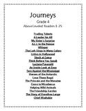 Journeys Grade 4 Above Leveled Readers