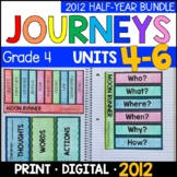 Journeys Grade 4 HALF-YEAR BUNDLE: Unit 4-6 - Supplemental/Interactive 2011/2012
