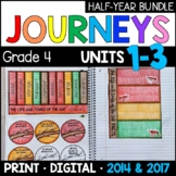 Journeys Grade 4 HALF-YEAR BUNDLE: Units 1-3 (Supplemental