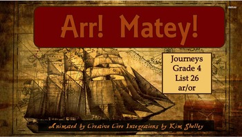 Journeys Grade 4 Interactive Spelling List 26