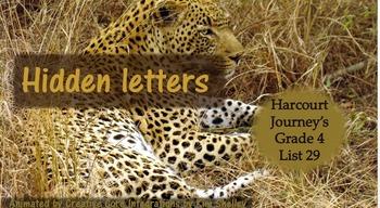 Journeys Grade 4 Interactive Spelling List 29