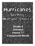 Journeys Grade 4 Lesson 11 Hurricanes Multiple Choice Spel