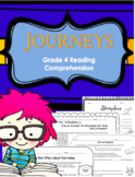 Journeys Grade 4 Reading Comprehension Questions
