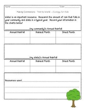 Journeys Grade 4 Supplemental Center Activities: Ecology for Kids
