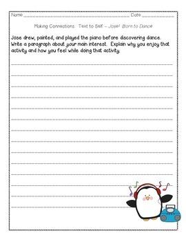 Journeys Grade 4 Supplemental Center Activities: Jose!  Born to Dance