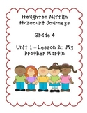 Journeys Grade 4 Supplemental Center Activities: My Brothe