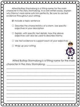 Journeys Grade 4 Unit 1-Lessons 1-5 Writing Prompt Bundle