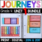 Journeys 4th Grade Unit 1 BUNDLE: Supplemental Materials with Interactive pages