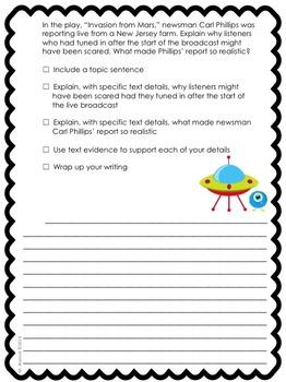 Journeys Grade 4 Unit 2-Lessons 6-10 Writing Prompt Bundle