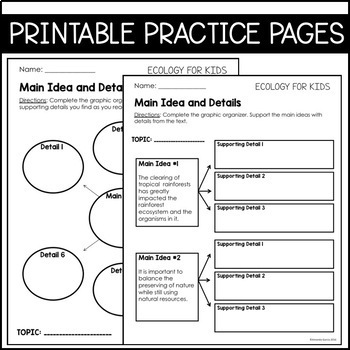 Journeys Grade 4 Unit 3 BUNDLE: Supplemental Materials with Interactive pages