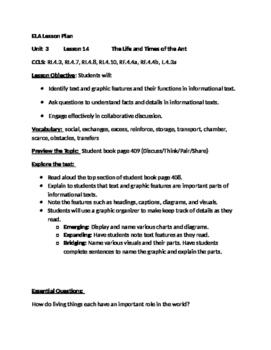 Journeys Grade 4 Unit 3 Lesson 14