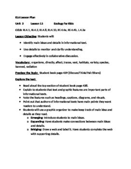 Journeys Grade 4 Unit 3 Lesson 15