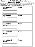 Journeys Grade 4 Unit 3 Vocabulary Quilts