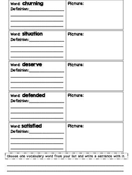 Journeys Grade 4 Unit 4 Vocabulary Quilts