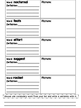 Journeys Grade 4 Unit 5 Vocabulary Quilts