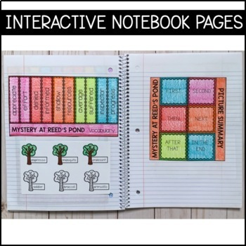 Journeys Grade 4 Unit 6 BUNDLE: Supplemental Materials with Interactive pages