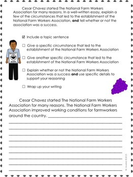 Journeys Grade 4-Writing Prompts Bundle Lessons 1-30