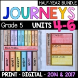 Journeys Grade 5 HALF-YEAR BUNDLE: Units 4-6 (Supplemental & Interactive pages)