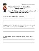 Now Is Your Time:James Forten-Journeys Grade 5 Lesson 14 Comprehension Questions