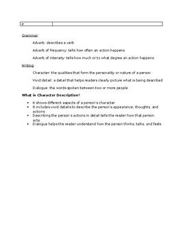 Journeys Grade 5 Lesson 17 notes & vocab
