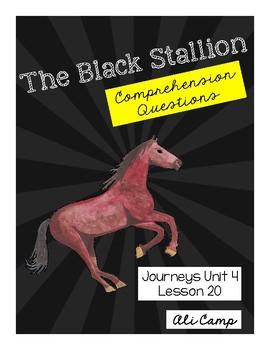 Journeys Grade 5 Lesson 20:The Black Stallion Comprehension Questions