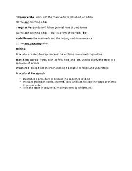 Journeys Grade 5 Lesson 21 notes & vocab