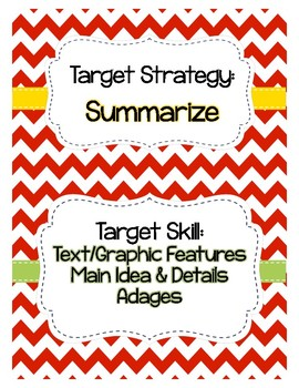 Journeys Grade 5 Lesson 23: Vaqueros Target Strategy/Skill Reading Pack