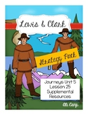 Journeys Grade 5 Lesson 25: Lewis & Clark Strategy/Skill Reading Pack