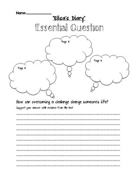 Journeys Grade 5 Lesson 5: Elisa's Diary Comprehension Questions