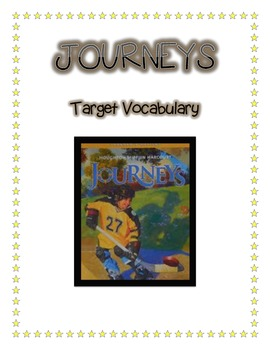 Harcourt Journeys Grade 5 Vocabulary Guided Practice Lessons 1-25