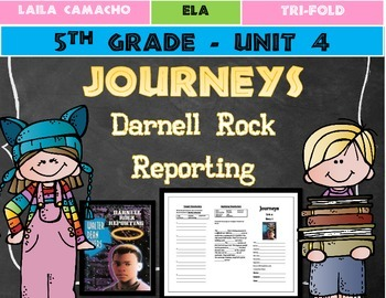 Journeys Grade 5 Trifold (Darnel Rock Reporting)